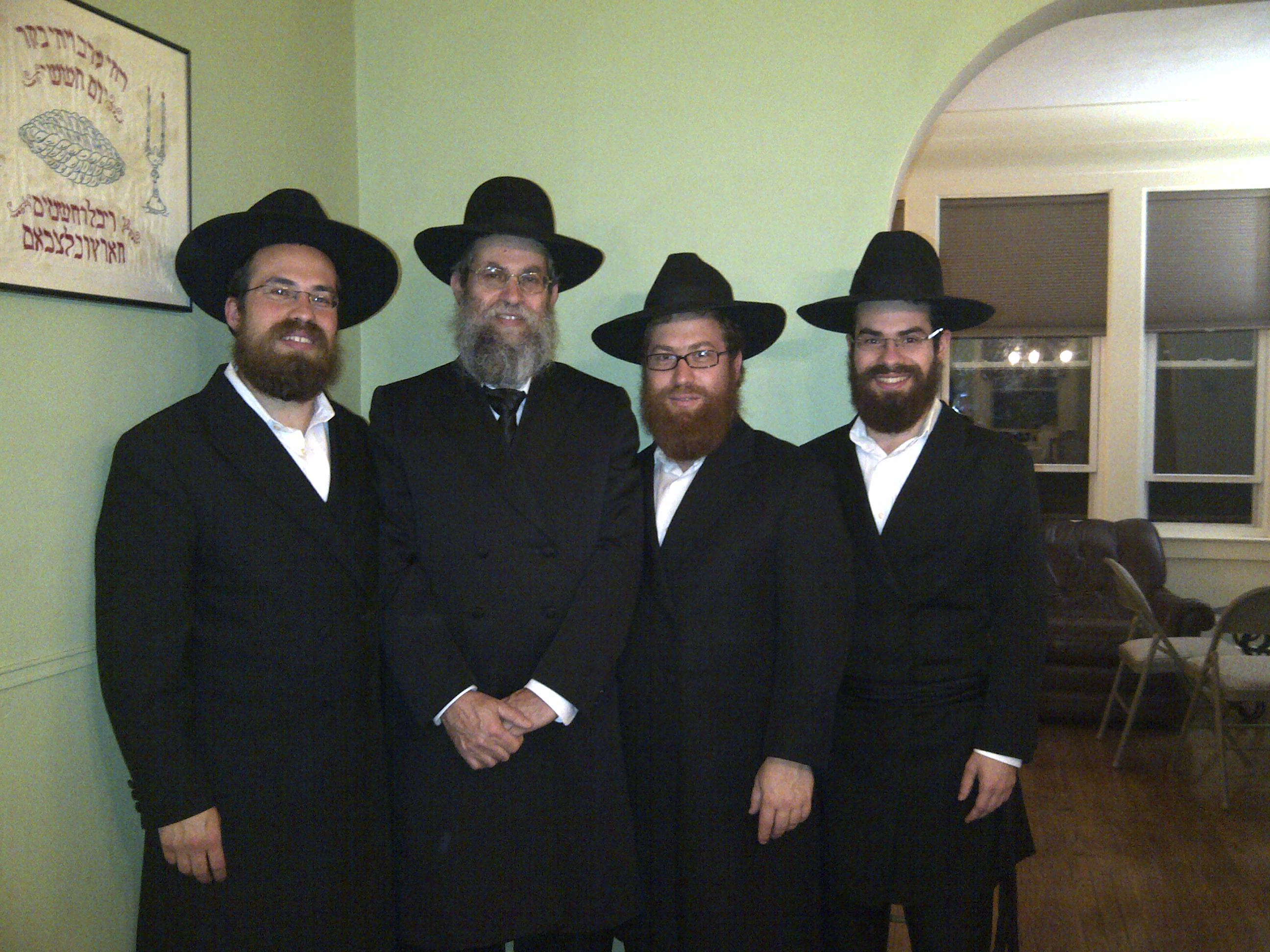 The four Galperin rabbis